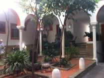 Our patio in La Macarena