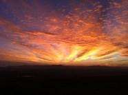 Sunrise over Vejer