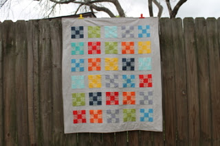 Easy, Pezzy Baby Quilt, a tutorial