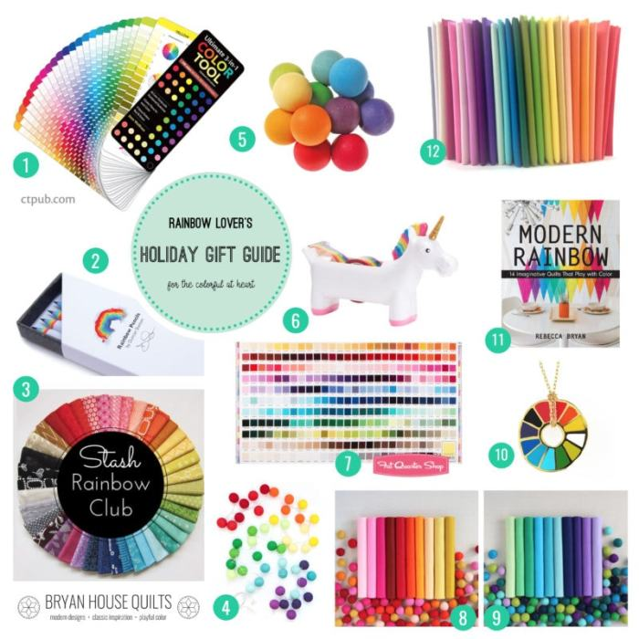 Rainbow Lover's Gift Guide {2016}
