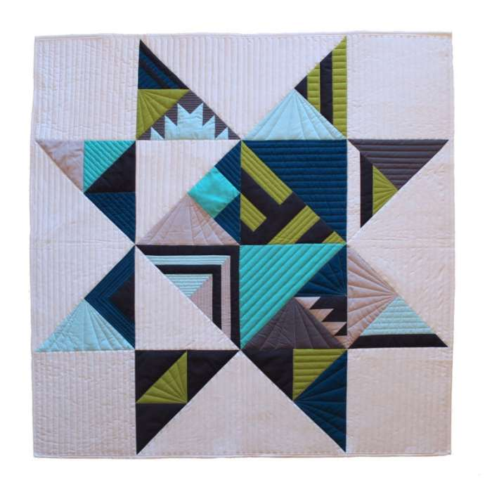 Bright {Free Quilt Pattern}