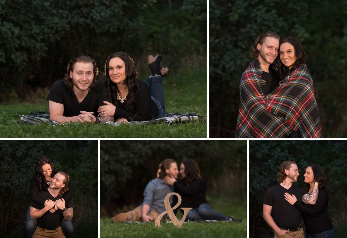 Fall engagement shoot at Hawk Ridge and Amity Creek.