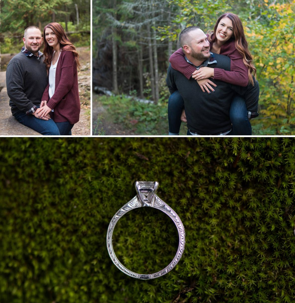 Justing and Jonie's engagement pics.