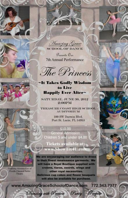 Amazing Grace School Of Dance Presents the Princess