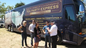 Tea Party Express Bus Tour 2012