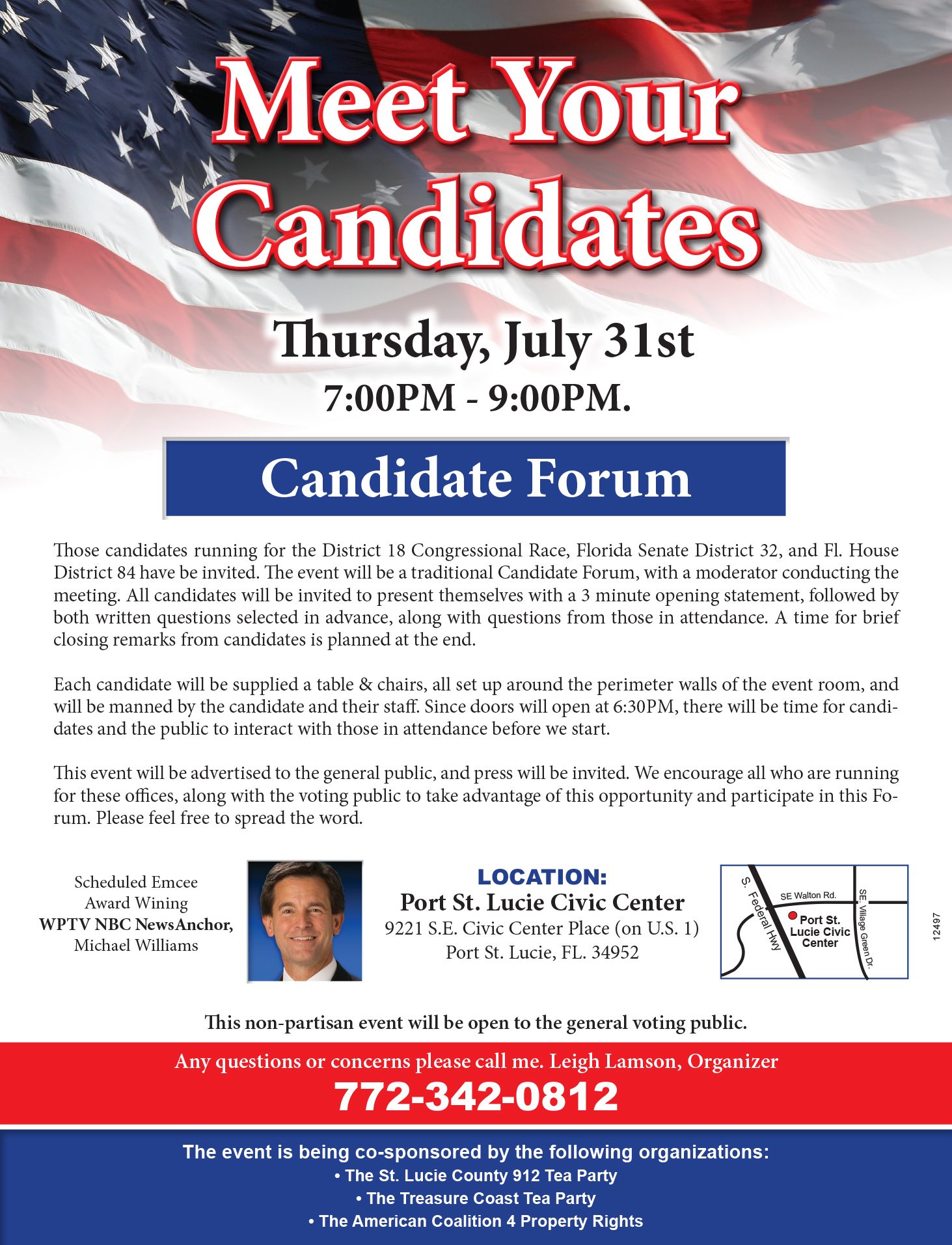 Treasure Coast Candidate Forum US Congress FL Senate House