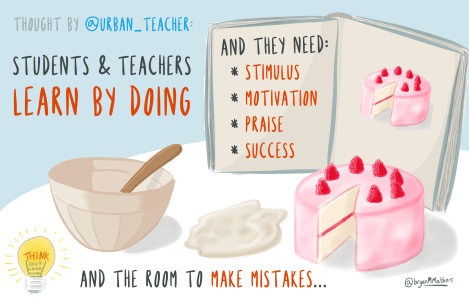 Students and Teachers learn by doing
