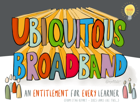 Ubiquitous broadband for every learner
