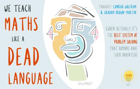 We teach maths like a dead language