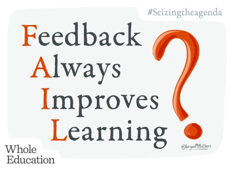 Feedback always improves learning?