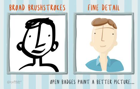 Open Badges paint a better picture