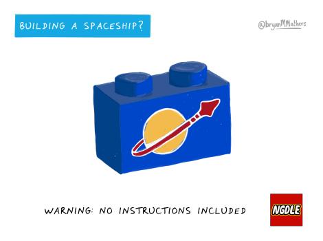 Building a spaceship?