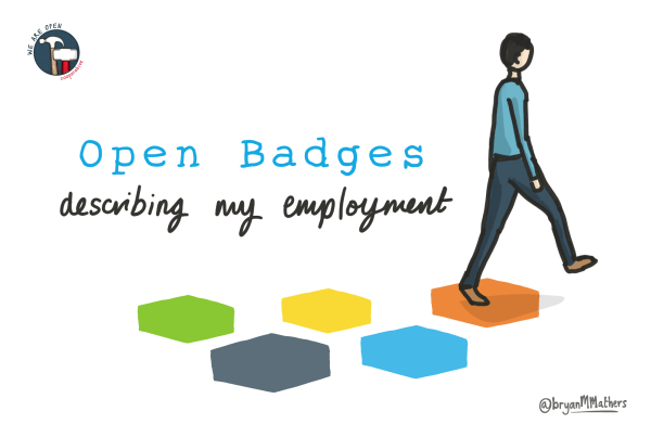 Open Badges: describing my employment