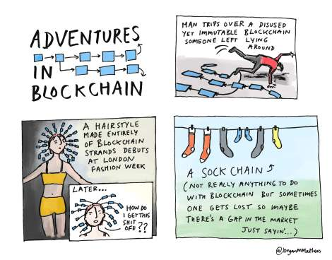 Adventures in Blockchain