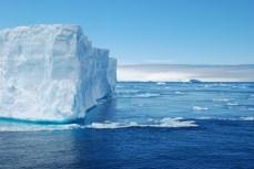 Tabular Iceberg in Antarctic Sound