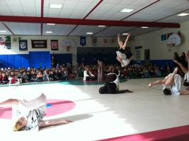 In continuation of our year, dancEnlight was also hired and invited to perform in numerous shows and residencies across CT. This one was at a Graby elementary school, but we also performed for Kinsella Performing Arts Magnet School, South Windsor Senior Center, and the town of Killingworth.