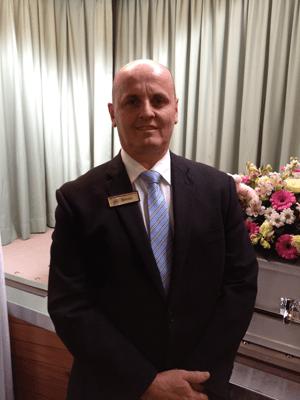 Bryan Reid Funeral Director