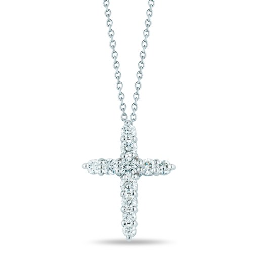 Roberto-Coin-Tiny-Treasures-18K-White-Gold-Cross-Pendant-with-Diamonds-001857AWCHX0
