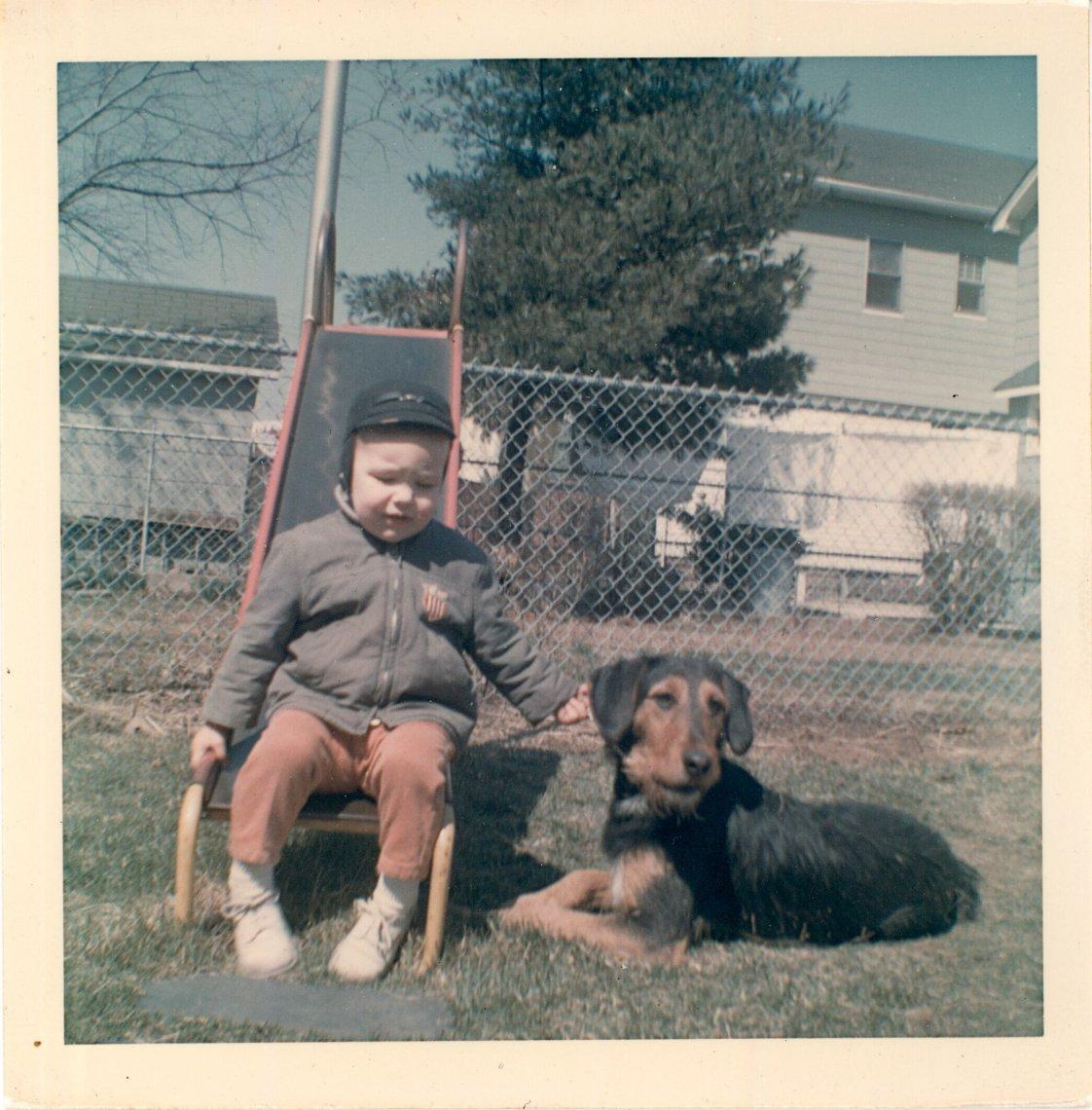 Bryan and Mugzy Dog