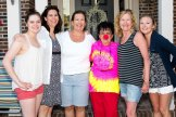 Emily, Lenore, Kathy, Nell Thatcher, Marybeth and Samantha Runkowski