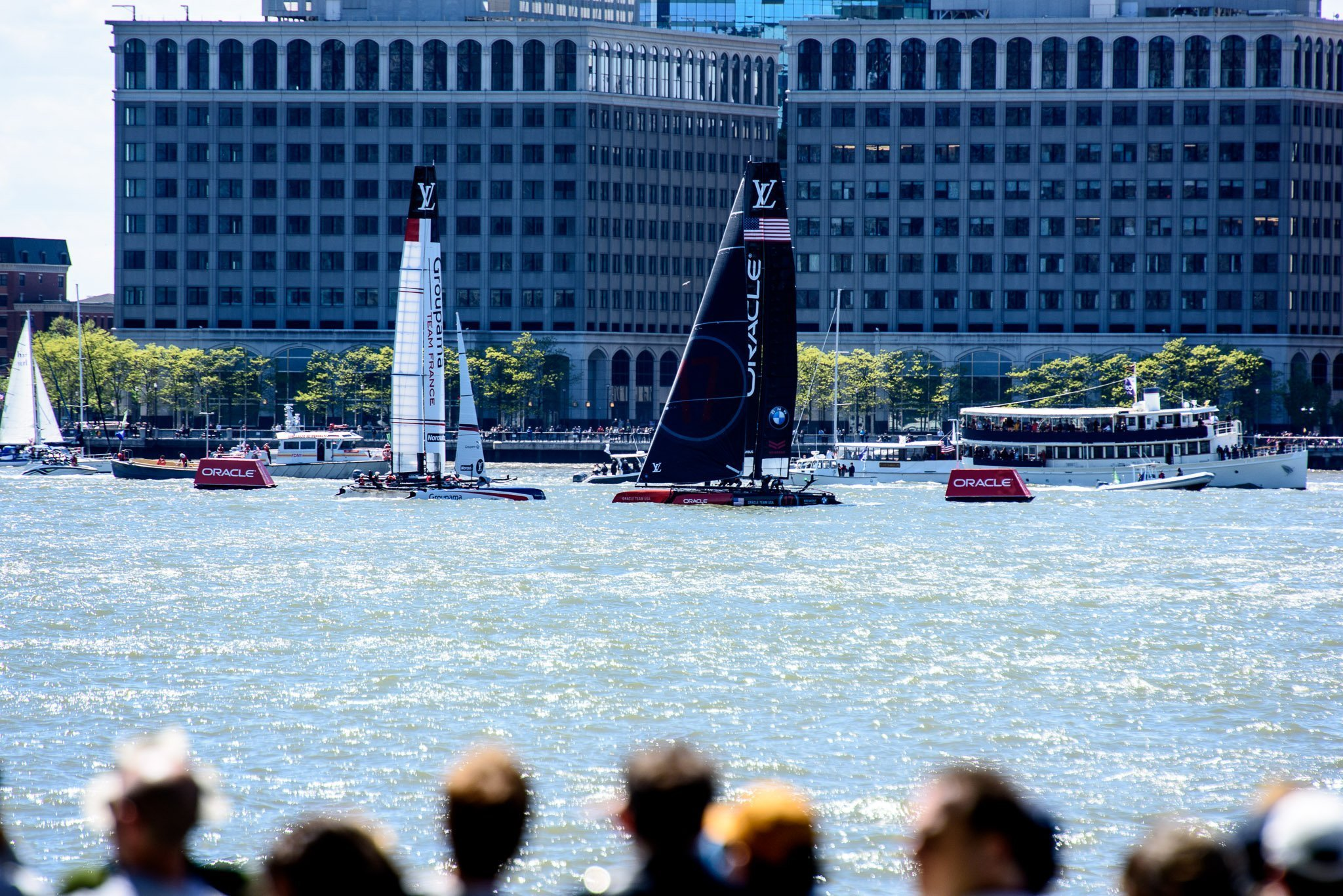 Oracle and team France America's Cup