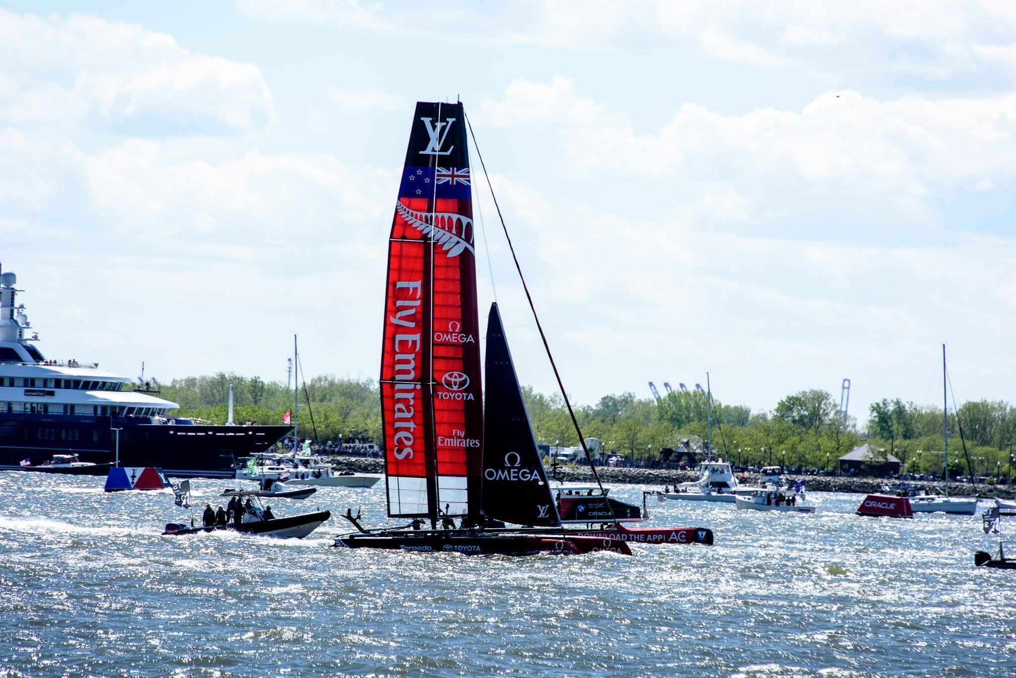 Fly Emirates America's Cup