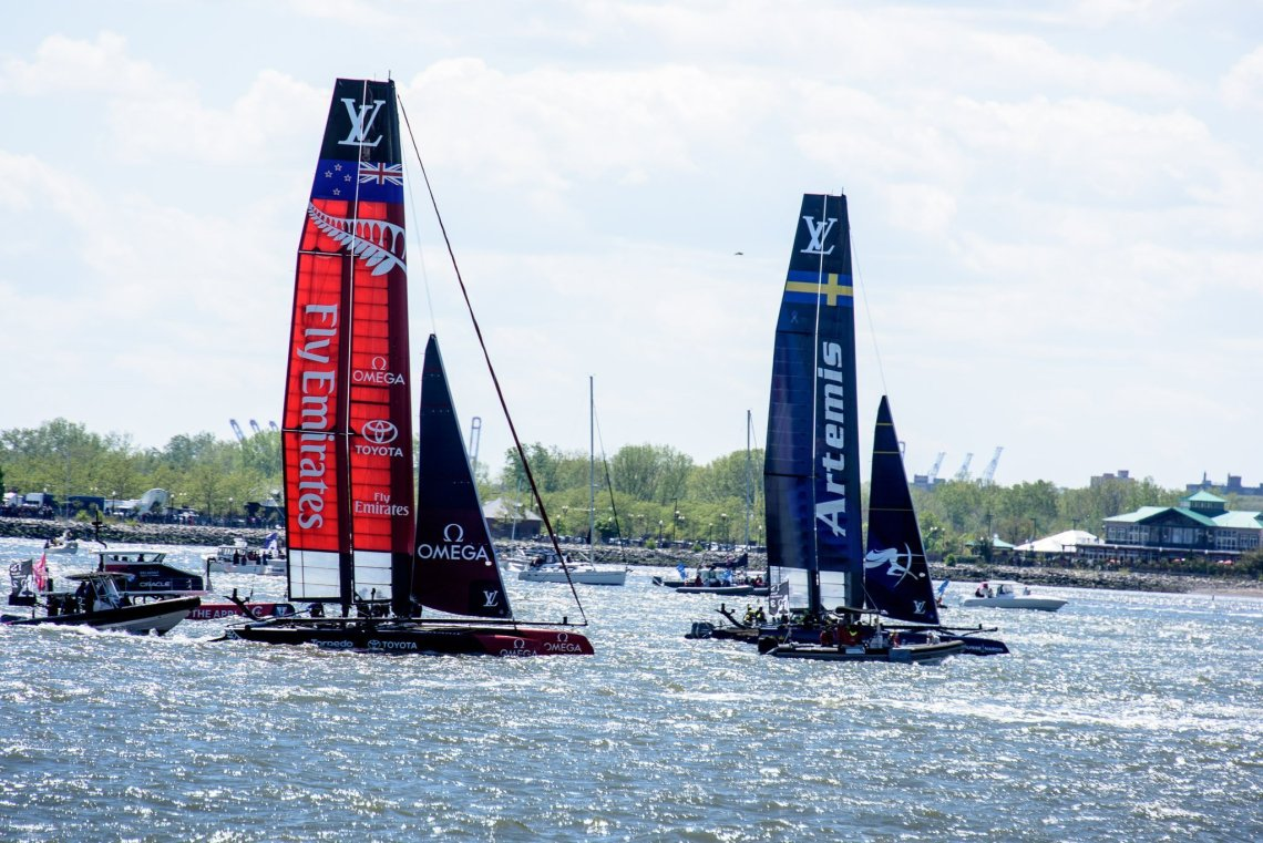 Fly Emirates and Artemis America's Cup