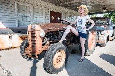 SuzyMae, vintage tractor
