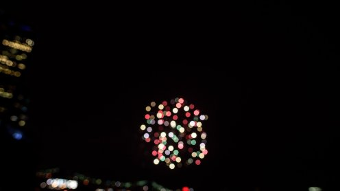 fireworks in the east river
