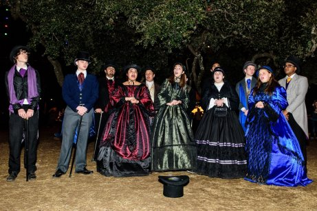 Trail of Lights, carolers