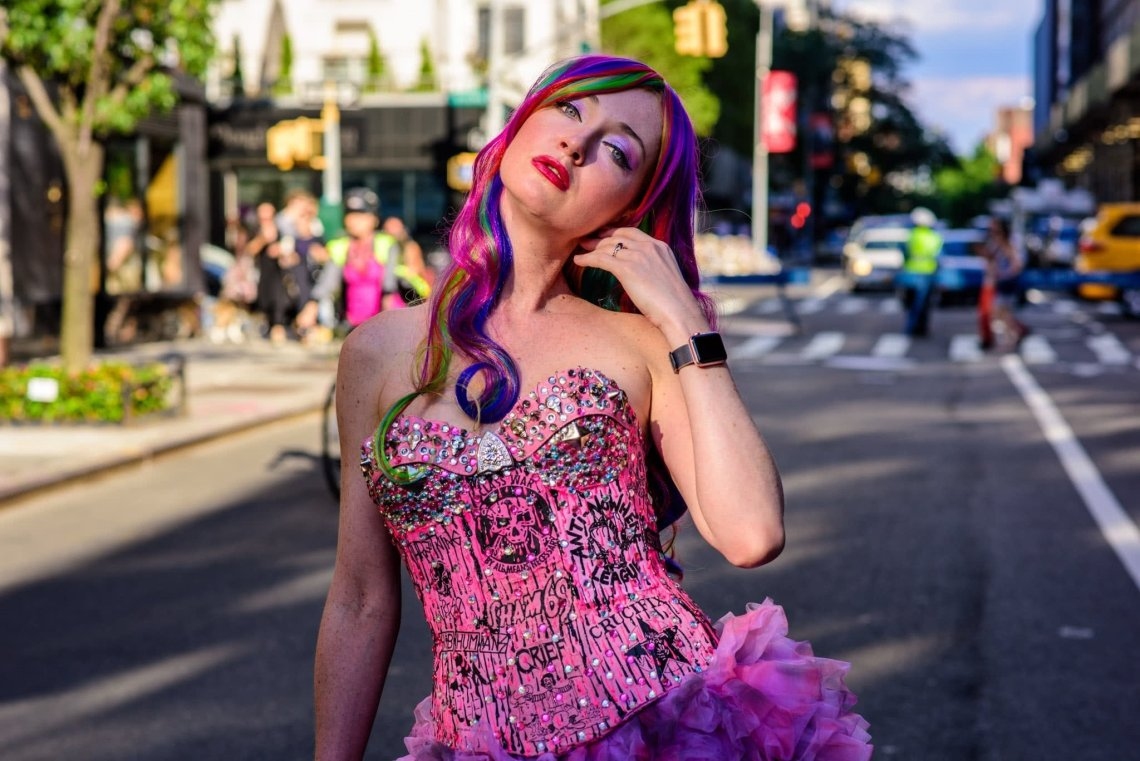 SuzyMae at Pride