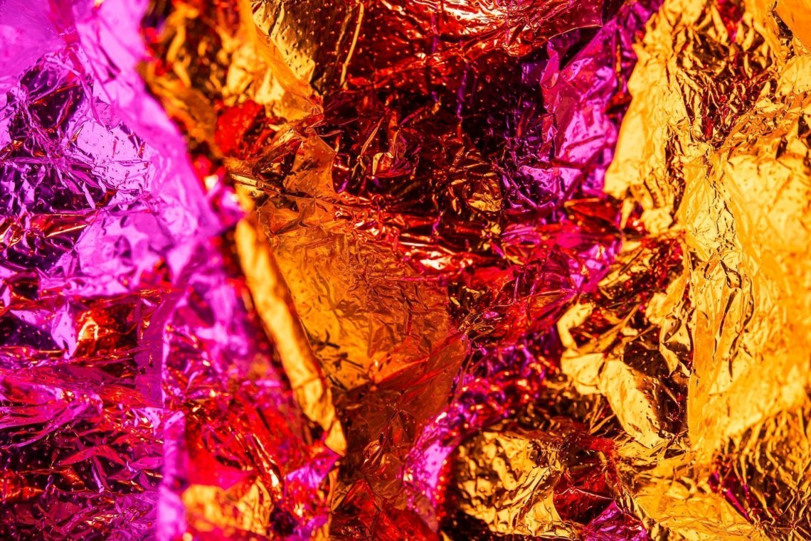Abstract color foil #3