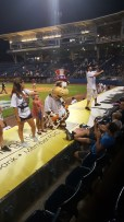 Yankees mascot Scooter, the Holy Cow