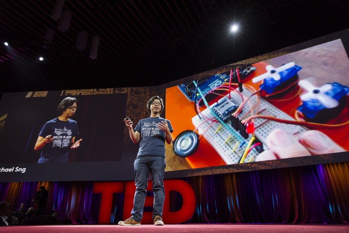 The Singaporean Toymaker Who Kickstarted to the Global TED Conference, Michael Sng