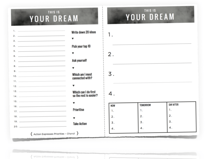dream-worksheet
