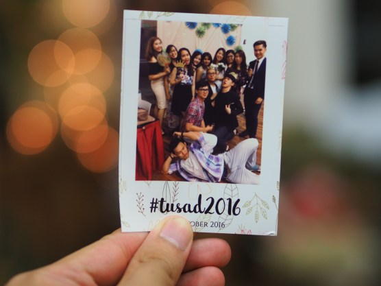 They had free instant photos if you posted on Instagram with the hashtag #TUSAD2016
