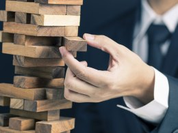 Jenga Puzzle - Risk