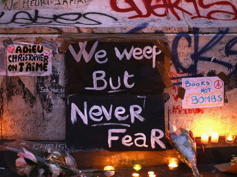Paris Attacks - We weep but never fear