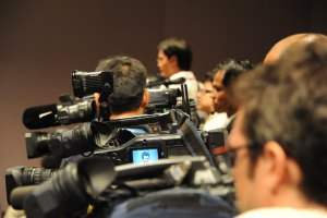 Cameras-at-a-Press-Conference-for-Web Cameras at a Press Conference