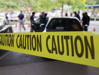 Crime Scene Caution Tape