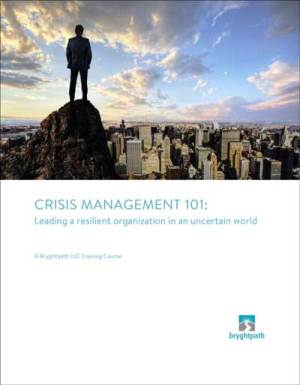Crisis Management 101 Cover