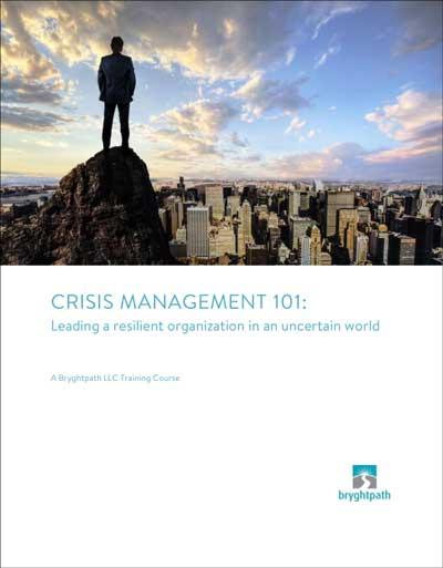 Crisis Management 101 Cover