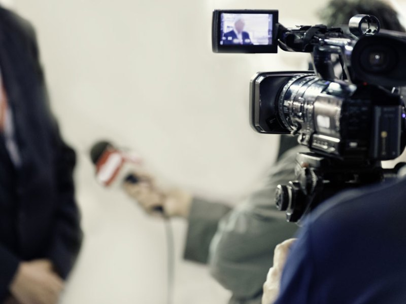 TV Media Interview with a Single Subject
