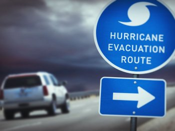 SUV - Hurricane Evacuation Route