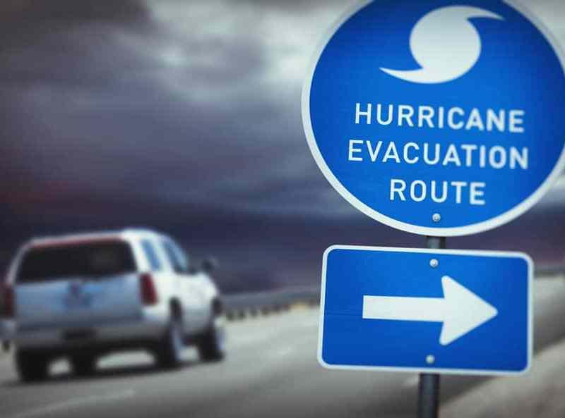 SUV - Hurricane Evacuation Route