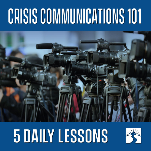 Crisis Communications 101 Intro Course 600x600