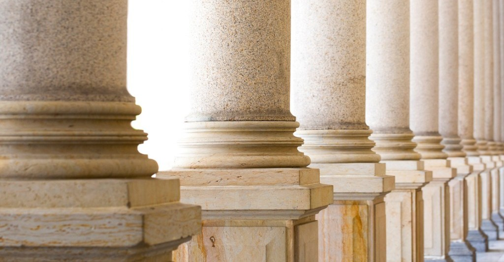Classic Stone Colonnade