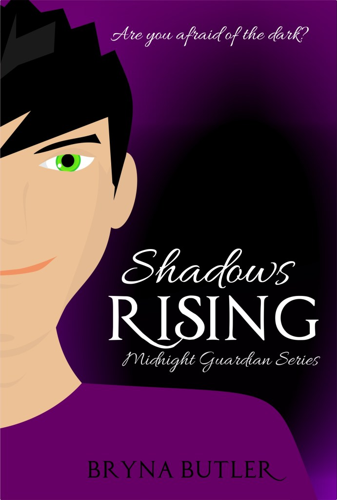 book cover for Shadows Rising