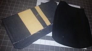 Foldover bag and side bag design prototype