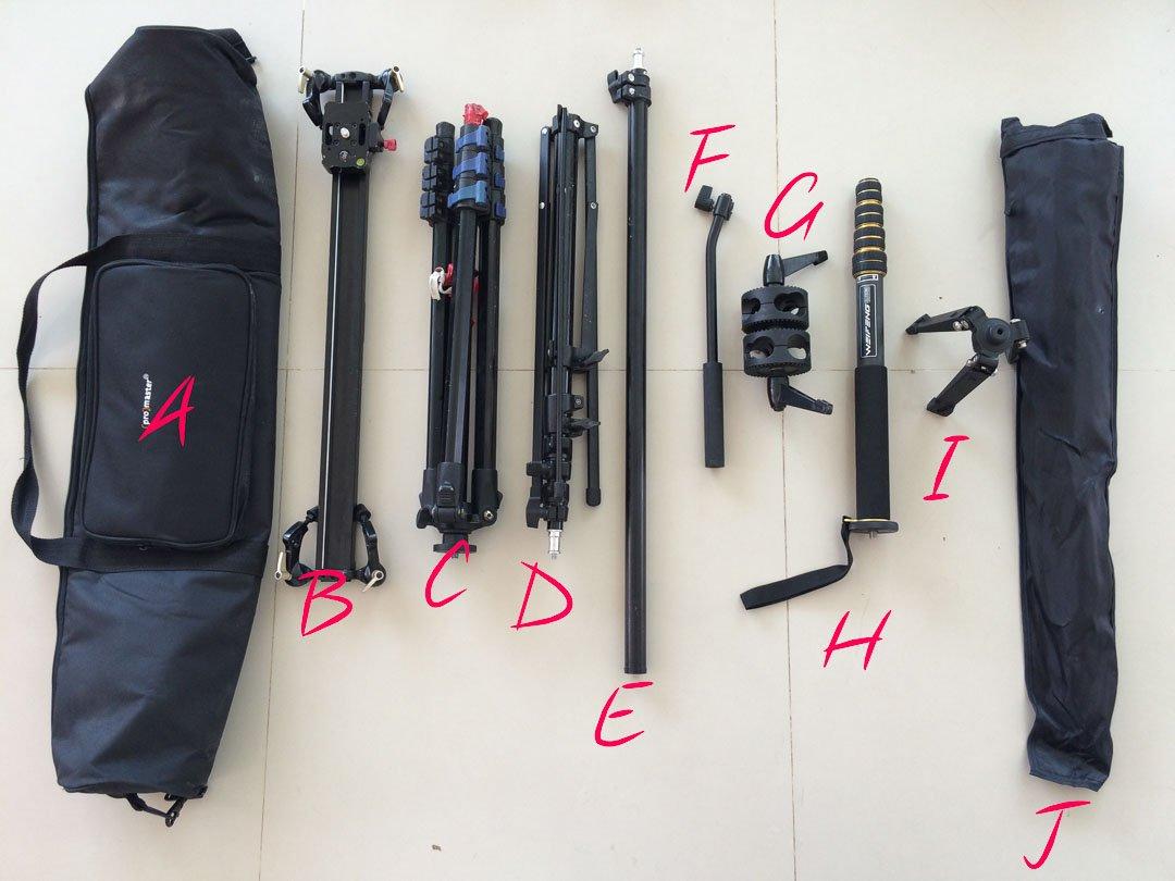 Tripod Bag for Humanitarian Photographer Bryon Lippincott